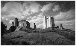 (3C)   CONISBROUGH CASTLE. By the mid 16th century the castle was semi-derelict