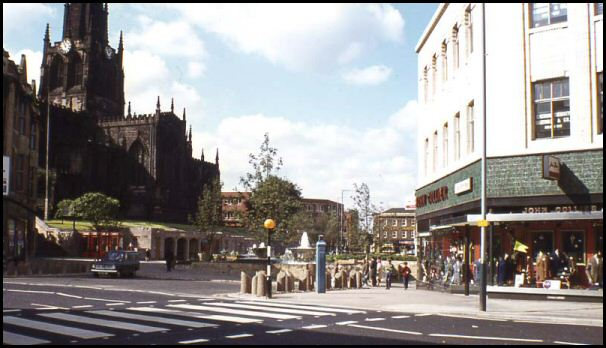 All Saint's Square in 1966