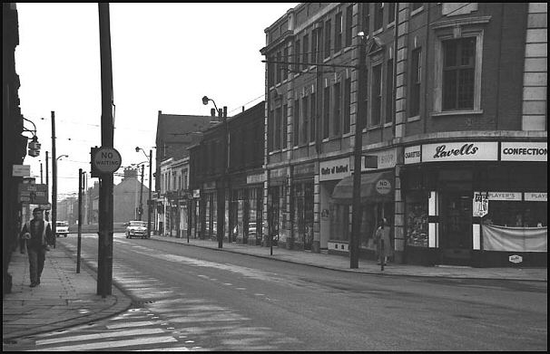 Effingham Street in 1963