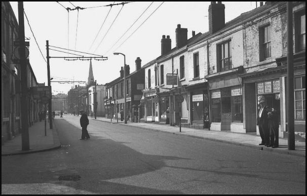 Effingham Street in 1960