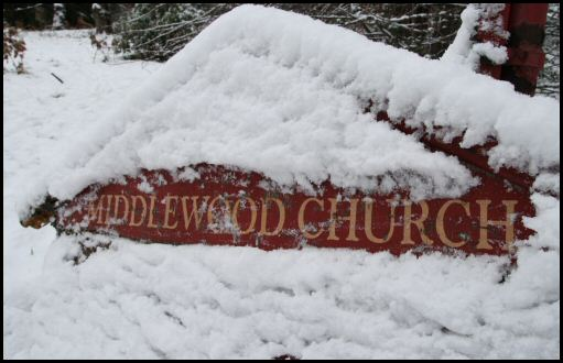 Middlewood Church sign