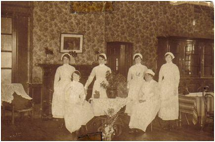 Photo from Dorothy Staniford who used to be a nurse cadet at the Hospital