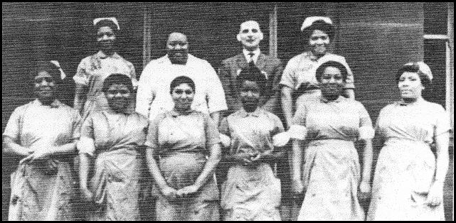 Bill Shuck and nurse assistants